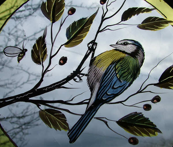 Bird Centres Abinger Stained Glass