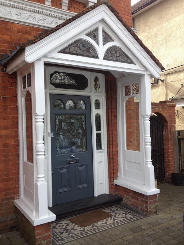 Front Door Scheme Abinger Stained Glass
